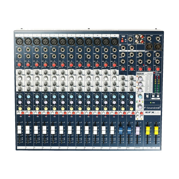 Soundcraft EFX 12 PA mixer